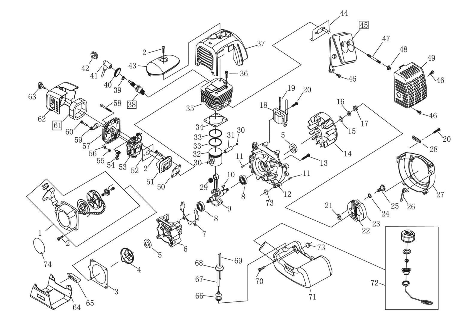 ersatzteile und zeichnung von al ko f r motorsensen frs 410. Black Bedroom Furniture Sets. Home Design Ideas