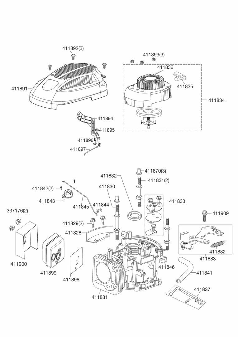 ersatzteile und zeichnung von al ko f r benzinmotor pro. Black Bedroom Furniture Sets. Home Design Ideas