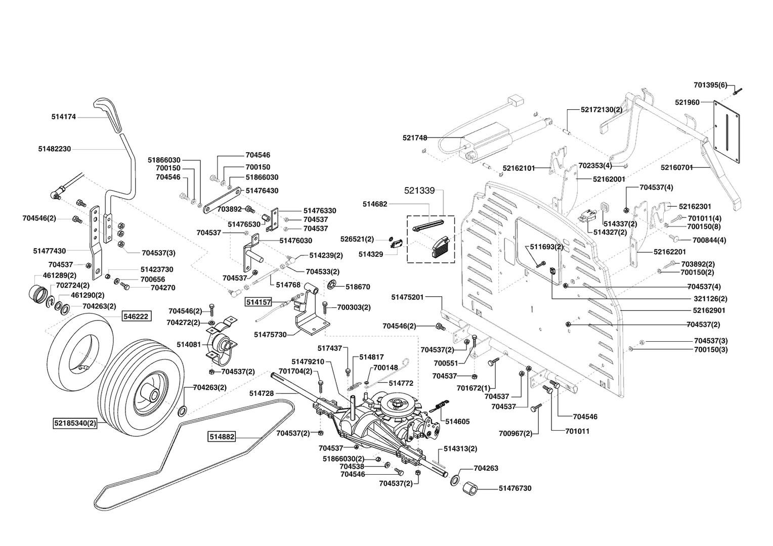 ersatzteile und zeichnung von al ko f r rasentraktor t20 102 hde tob. Black Bedroom Furniture Sets. Home Design Ideas