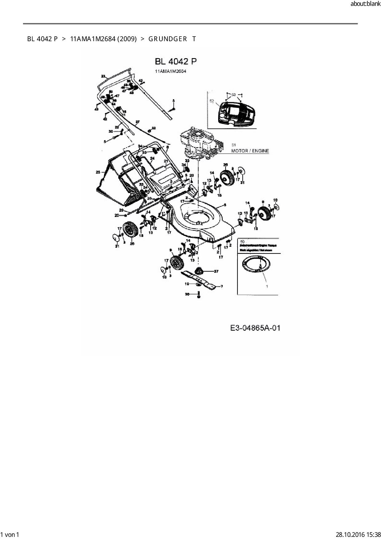 Bolens Ersatzteil Messernabe Mtd Engine Psp Fr Motormher Bl Diagram Positionsnummer 37 Aus Dieser Zeichnung