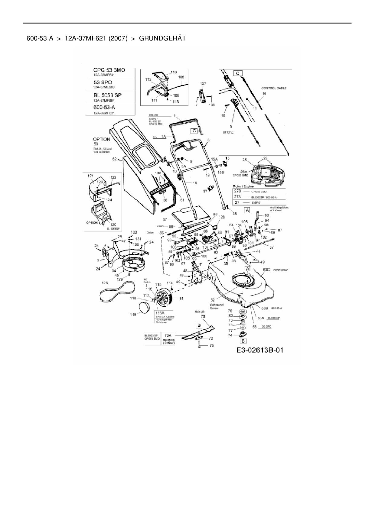 ersatzteile von hanseatic motorm her mit antrieb 600 53 a. Black Bedroom Furniture Sets. Home Design Ideas