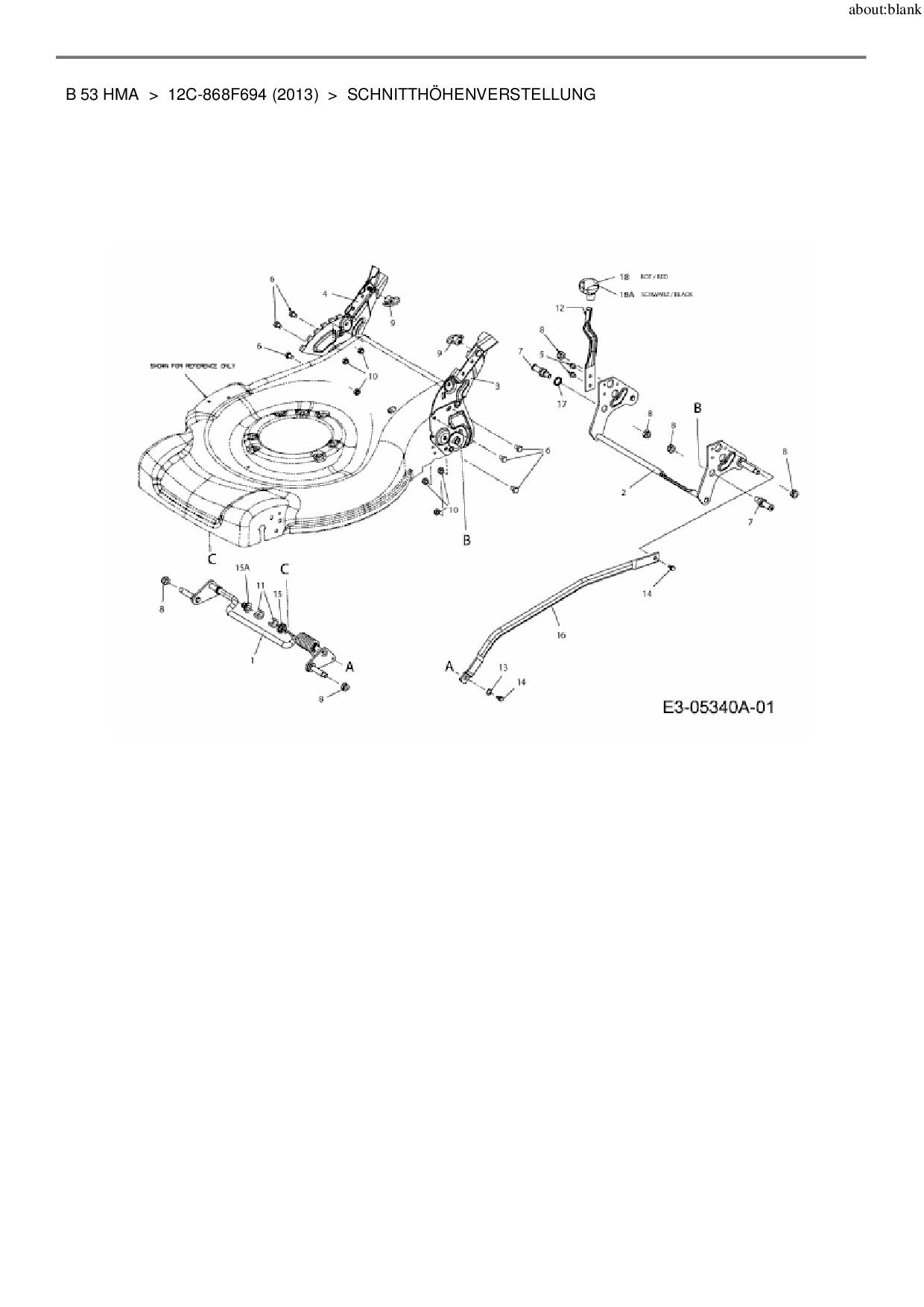 ersatzteile von lux tools motorm her mit antrieb b 53 hma. Black Bedroom Furniture Sets. Home Design Ideas