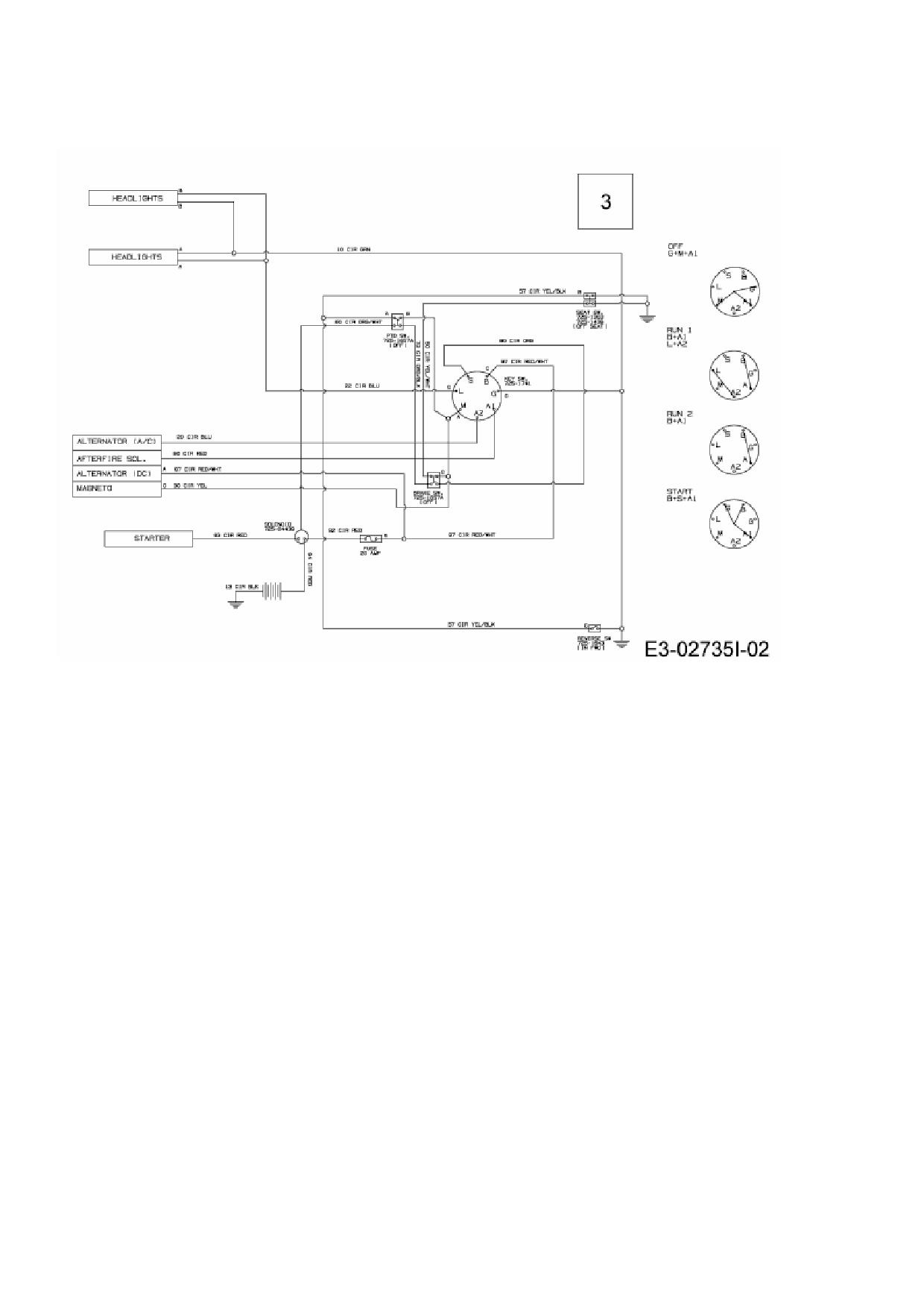 Ersatzteile von Lux Tools Rasentraktor RT 135-96 S aus der Zeichnung