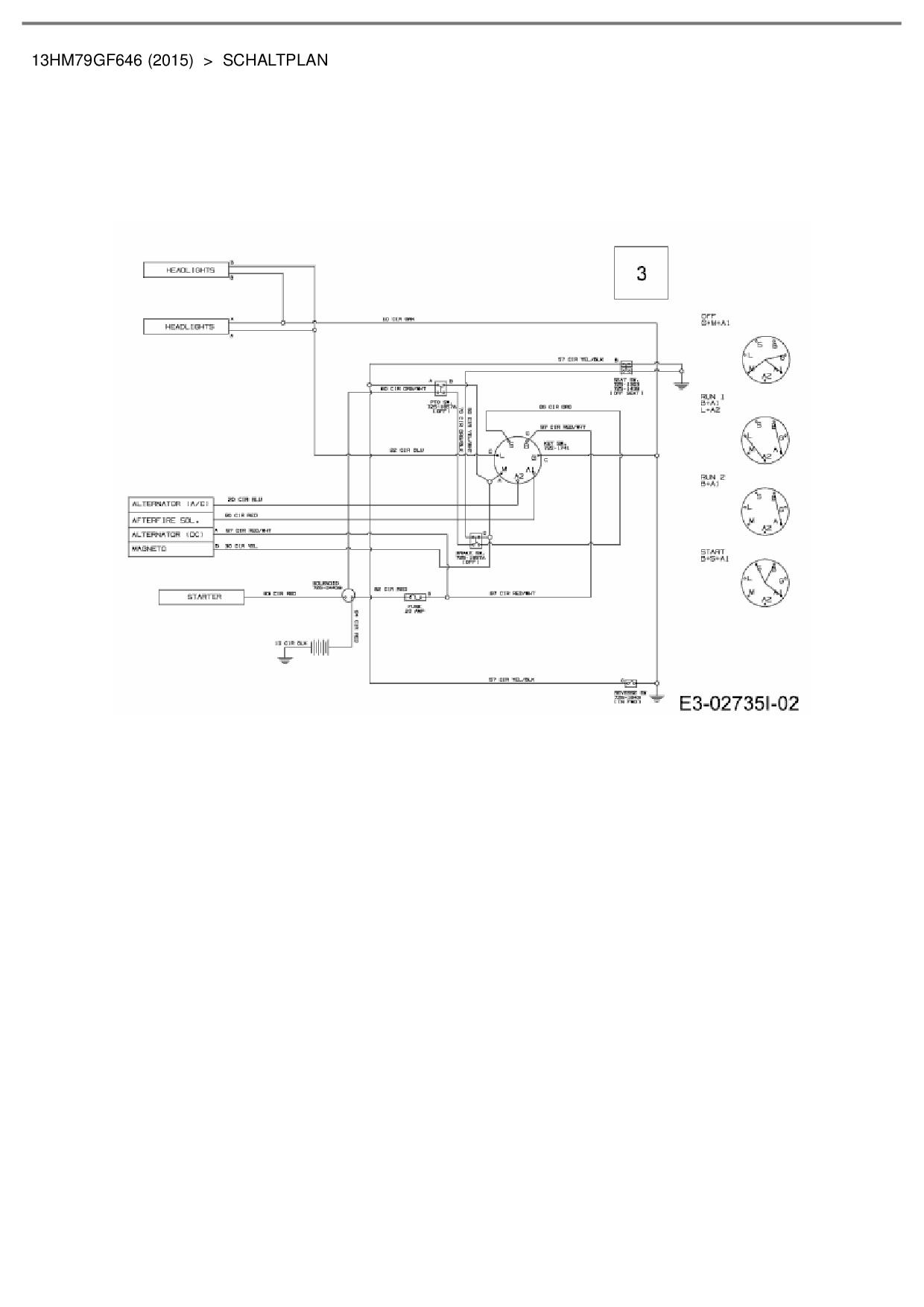 Ausgezeichnet Murray Mäher Schaltplan Galerie - Elektrische ...