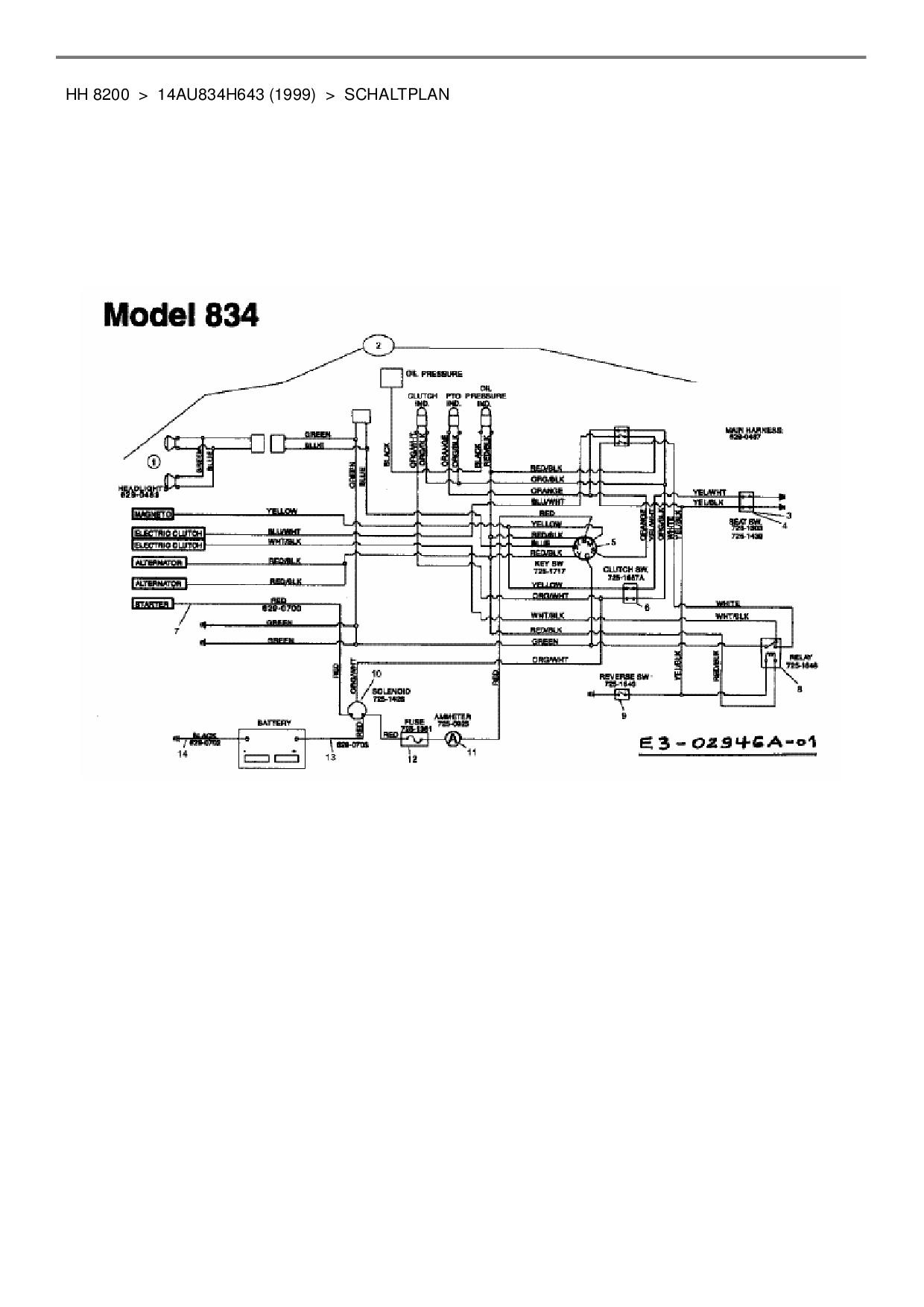 Yard-Man Ersatzteil RELAIS:SPTDT:12 V 20 AMP für Gartentraktor HH ...