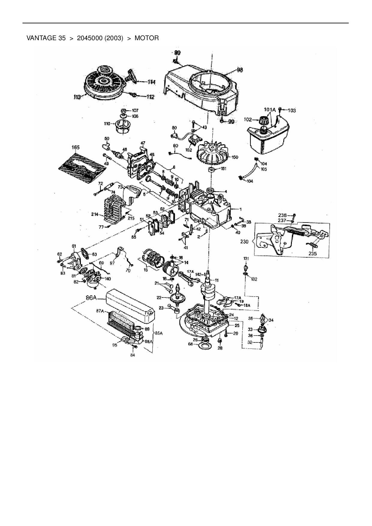 ersatzteile von wolf garten benzinmotor tecumseh vantage. Black Bedroom Furniture Sets. Home Design Ideas