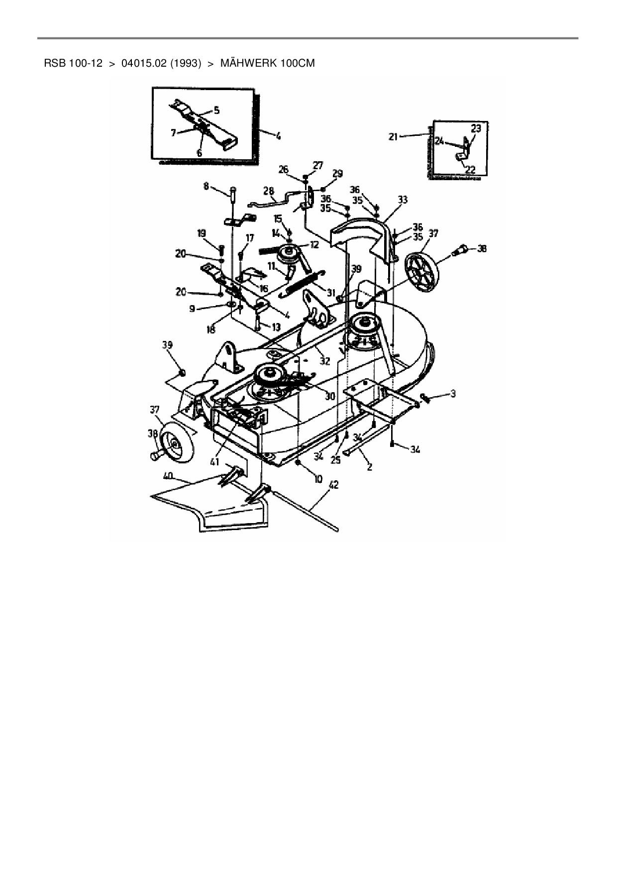 Fahrriemen Keilriemen passend Gutbrod RSB 100-12 Rasentraktor